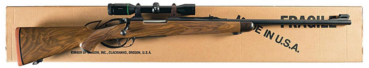 Kimber Of Oregon M89 Super Grade Big Game Rifle In 375 Hh Magnum